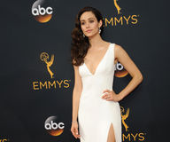 Emmy Rossum. At the 68th Annual Primetime Emmy Awards held at the Microsoft Theater in Los Angeles, USA on September 18, 2016 Stock Photography