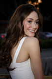 Emmy Rossum. 28/04/2008 - West Hollywood - Emmy Rossum arrives to the Launch of the Scarlet HD TV Series held at the Pacific Design Center in West Hollywood Stock Photography