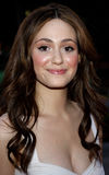 Emmy Rossum. WEST HOLLYWOOD, CALIFORNIA. Monday April 28, 2008. Emmy Rossum attends the Launch of the Scarlet HD TV Series held at the Pacific Design Center in Royalty Free Stock Images