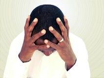 Emoção humana - esforço Imagem de Stock Royalty Free