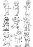Emoções Ilustração do Vetor