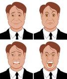 Emoções 3 Fotografia de Stock Royalty Free