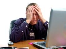 Emoções 3 do negócio Imagens de Stock