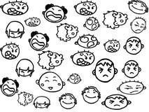 Emoções Foto de Stock Royalty Free