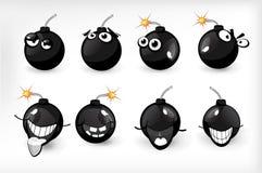 Emoções da bomba Fotografia de Stock Royalty Free