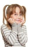 Emoções da criança Fotografia de Stock Royalty Free