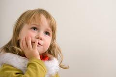 Emoções da criança Foto de Stock