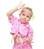 Emoções da dança Foto de Stock Royalty Free