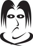 Emoções da face-inveja humana Imagem de Stock Royalty Free