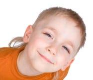Emoções do menino Fotografia de Stock