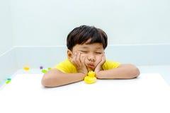 Emoções temperamentais Foto de Stock Royalty Free