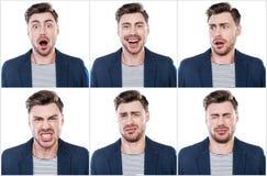 Emoções verdadeiras Fotografia de Stock Royalty Free