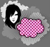 emo σύννεφων Στοκ εικόνες με δικαίωμα ελεύθερης χρήσης
