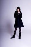emo вводит зиму в моду Стоковая Фотография RF