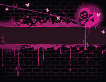 Emo Banner Royalty Free Stock Photo