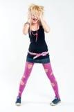 emo dziewczyny target315_0_ Zdjęcie Royalty Free