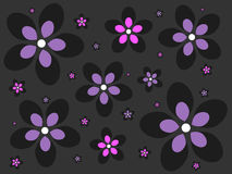 Emo Flower Background Stock Photo