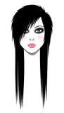 Emo Girl Royalty Free Stock Photography