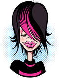 Emo Girl Fotos de Stock