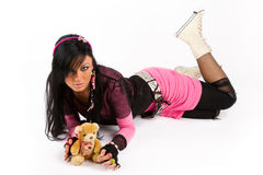 EMO girl Stock Images