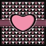 Emo gothic romantic frame Stock Image