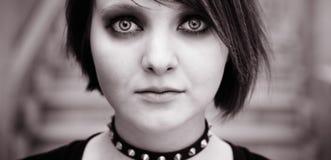 Emo oder goth stockfotos