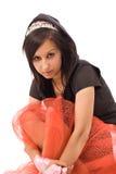 emo portret dziewczyny Fotografia Royalty Free