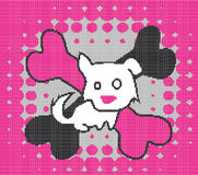 Emo puppy Stock Photo