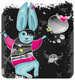 Emo Rabbit 2. Vector illustration of Emo Rabbit. To see similar, please visit my gallery Stock Photo