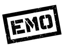Emo rubber stamp Stock Photography