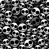 Emo seamless pattern Royalty Free Stock Photography