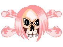 Emo_skull 库存图片