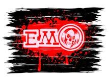 Emo_skull 库存照片