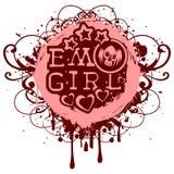 Emo_skull Royalty Free Stock Photography