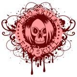 Emo_skull Stock Photos