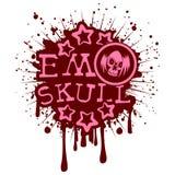 Emo_skull Stock Image