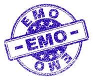 EMO Stamp Seal texturisé grunge illustration stock
