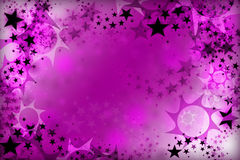 Emo Stars Background. Pink emo background for posters or webs Royalty Free Stock Photos