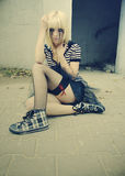Emo style #1 Royalty Free Stock Images