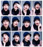 emociones Fotos de archivo libres de regalías