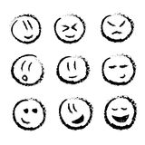 emociones stock de ilustración