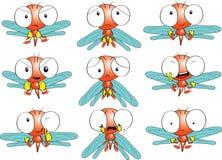 Emociones de la libélula Imagen de archivo libre de regalías