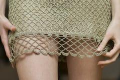 Emociones de la mujer sensual. Foto de archivo libre de regalías