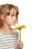 Emociones del niño Foto de archivo libre de regalías