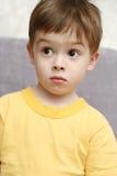 Emociones del niño Foto de archivo