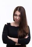 Emocj serie ukraińska dziewczyna - smucenie i ansa Zdjęcia Stock