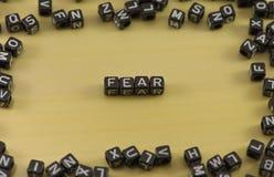 Emocja strach obrazy royalty free