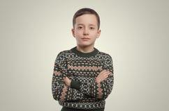 emocje błękitnej chłopiec kamery przyrządu skutka form upału cyfrowego wizerunku modela fotografii portreta infrared robi nie nap Zdjęcie Stock