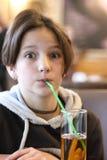 Emocje dziecko podczas posiłku Obrazy Stock
