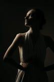 emocjonalny brunetka portret obrazy royalty free